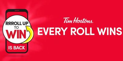 Tim Hortons Canada Roll Up To Win is Back!
