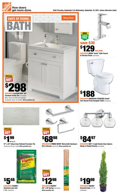 Home Depot (BC) Flyer September 9 to 15