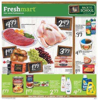 Freshmart (West) Flyer September 10 to 16