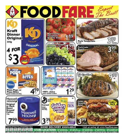 Food Fare Flyer September 11 to 17