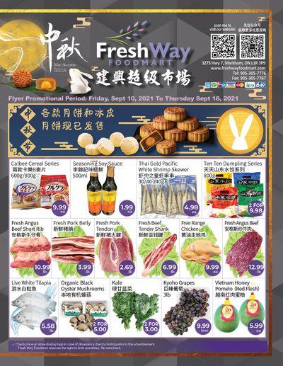 FreshWay Foodmart Flyer September 10 to 16