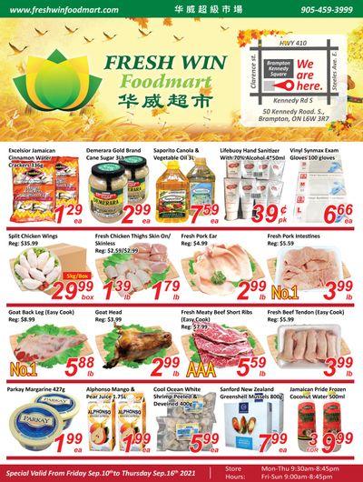 Fresh Win Foodmart Flyer September 10 to 16