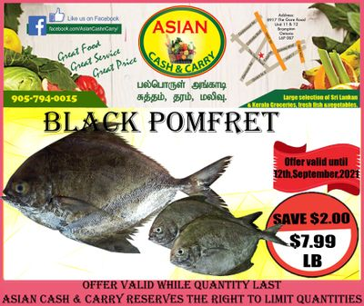 Asian Cash & Carry Flyer September 10 to 16