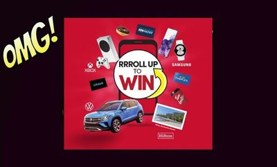 Roll Up To Win is back! at Tim Hortons