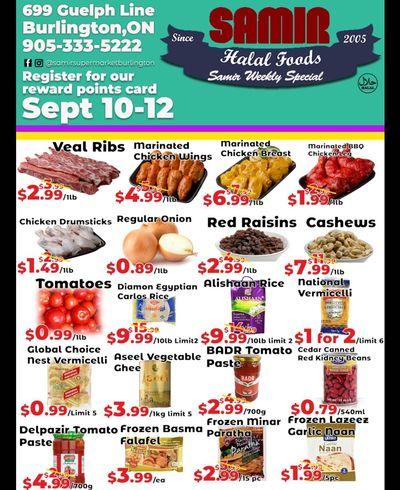 Samir Supermarket Flyer September 10 to 12