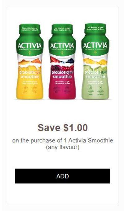 No Frills Ontario: Free Activia Smoothie With Printable Coupon
