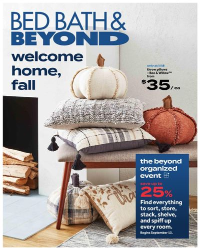 Bed Bath & Beyond Flyer September 13 to 26