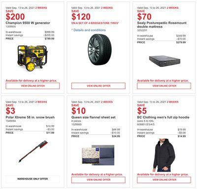 Costco Canada MoreSavings Weekly Coupons/Flyers for: Ontario, New Brunswick, Newfoundland & Labrador and Nova Scotia, Until September 26