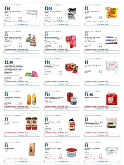 Costco Canada Business Centre Instant Savings Coupons / Flyer, until September 26