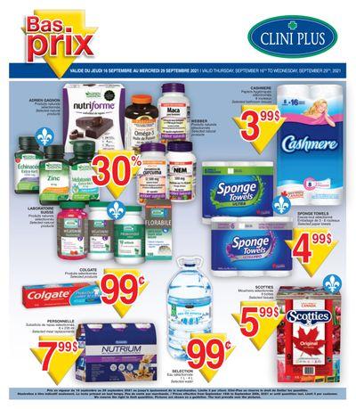Clini Plus Flyer September 16 to 29