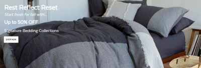 QE Home Quilts Etc Canada: Save Up to 50% OFF Signature Bedding Collections + $30 – $50 OFF Down Duvets + More
