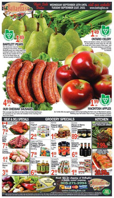 Battaglia's Marketplace Flyer September 15 to 21