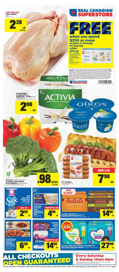 Real Canadian Superstore (ON) Flyer September 16 to 22