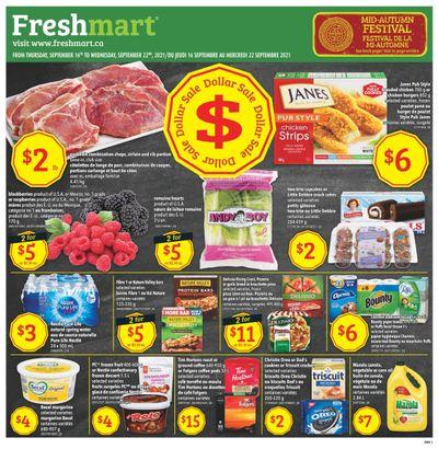 Freshmart (ON) Flyer September 16 to 22