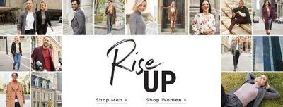 RW&CO. Canada Deals: Save $100 OFF Men's Suits + 30% OFF Women's Suits + More