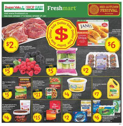 Shop Easy & SuperValu Flyer September 17 to 23