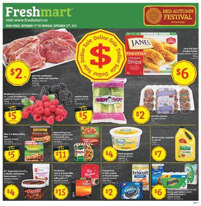 Freshmart (West) Flyer September 17 to 23