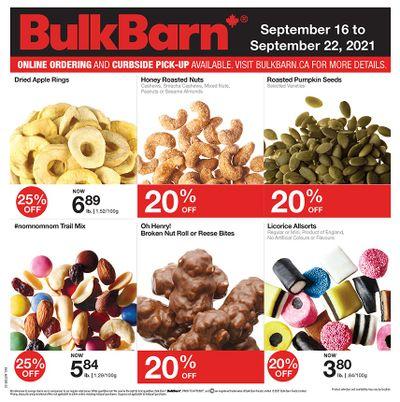 Bulk Barn Flyer September 16 to 22