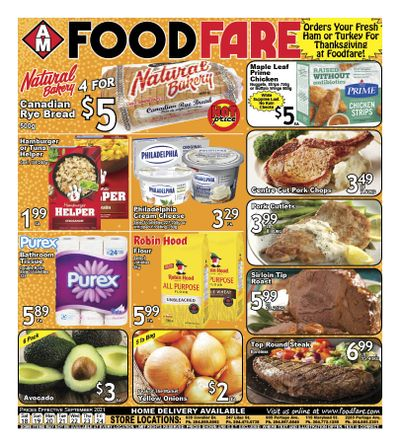Food Fare Flyer September 18 to 24