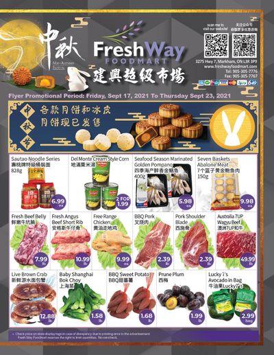 FreshWay Foodmart Flyer September 17 to 23