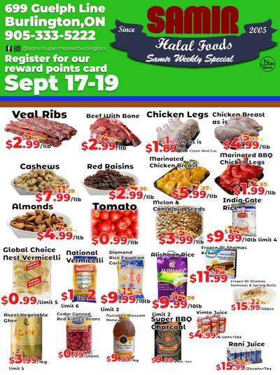 Samir Supermarket Flyer September 17 to 19