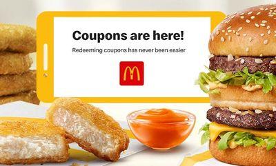 APP COUPONS  at McDonald's Canada