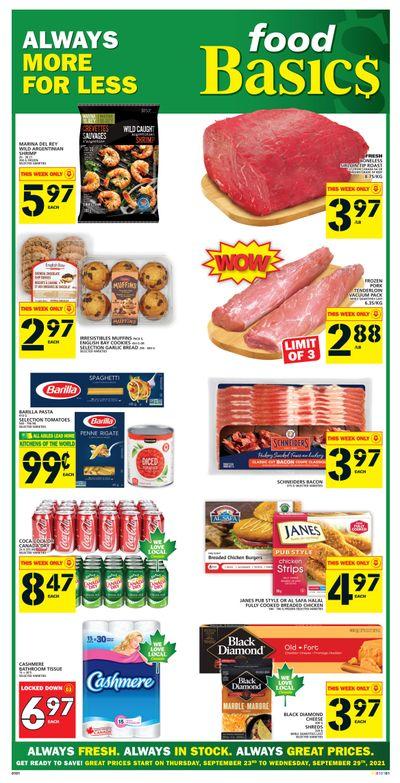 Food Basics Flyer September 23 to 29