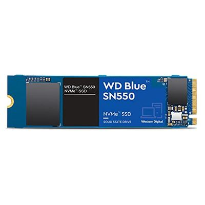 WD Blue SN550 1TB NVMe Internal SSD - Gen3 x4 PCIe 8Gb/s, M.2 2280, 3D NAND, Up to 2,400 MB/s - WDS100T2B0C $114.99 (Reg $134.99)