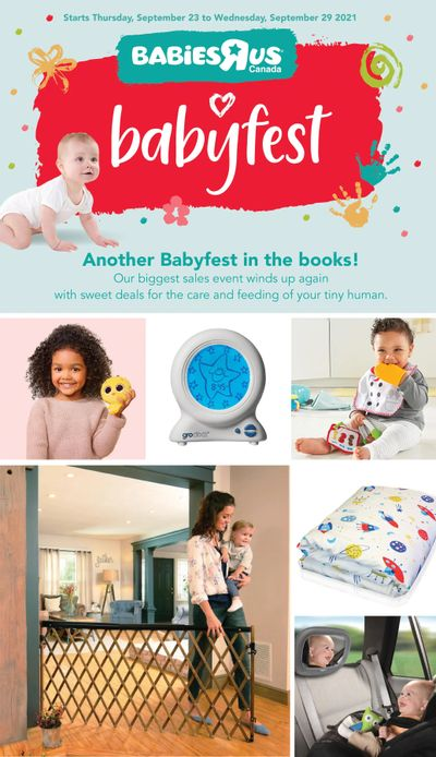 Babies R Us Flyer September 23 to 29
