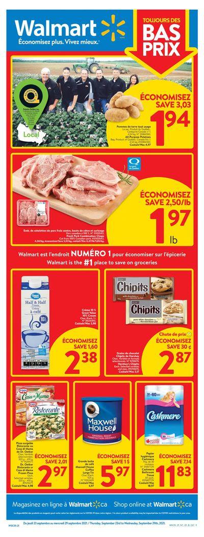 Walmart (QC) Flyer September 23 to 29