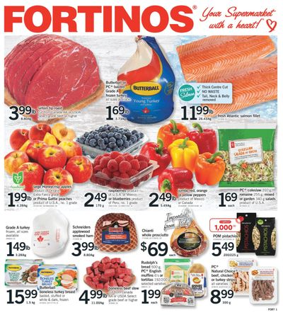 Fortinos Flyer September 23 to 29