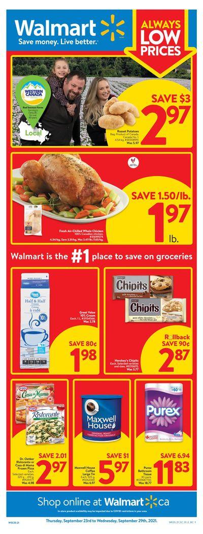 Walmart (West) Flyer September 23 to 29