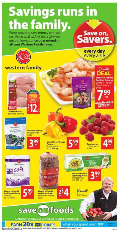 Save on Foods (BC) Flyer September 23 to 29