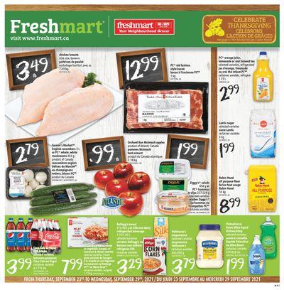 Freshmart (Atlantic) Flyer September 23 to 29