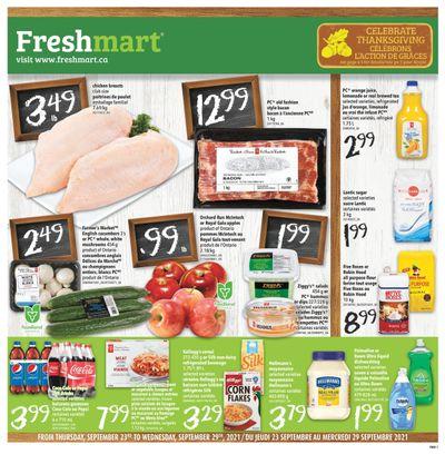 Freshmart (ON) Flyer September 23 to 29