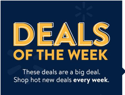 Walmart Canada Online Deals of the Week: Save up to 70% off Electronics, Toys, Health & More