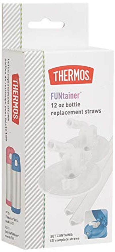 Thermos Replacement Straws for 12 Ounce Funtainer Bottle, Clear $2.97 (Reg $5.99)