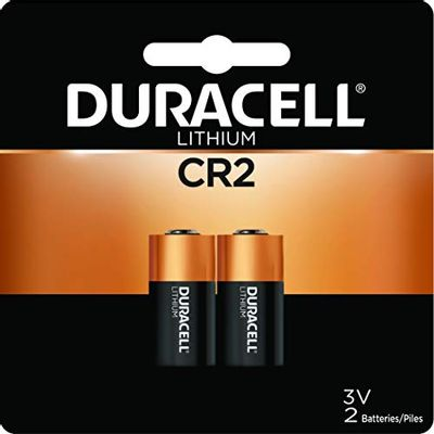Duracell - cr2 3V Ultra Lithium Photo Size Battery - Long Lasting Battery - 2 Count $18.49 (Reg $20.00)