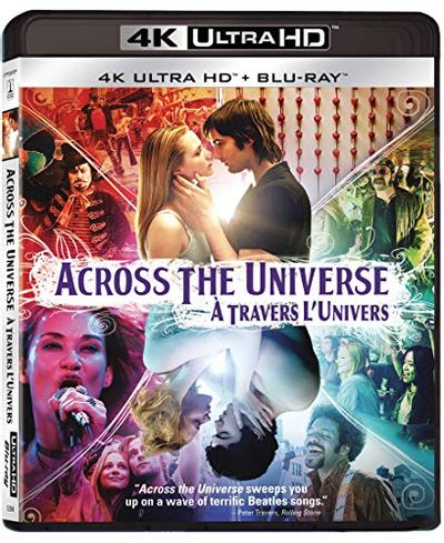 Across The Universe - 4K UHD [Blu-ray] (Bilingual) $15.99 (Reg $34.99)