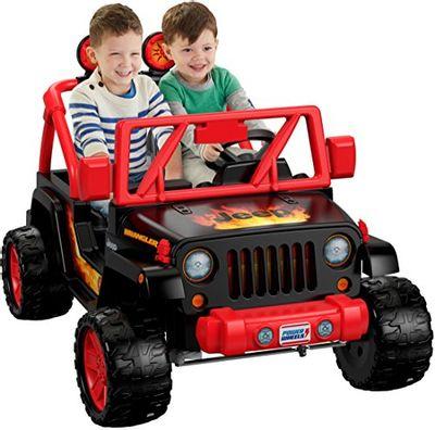 Power Wheels Tough Talking Jeep Wrangler $148.67 (Reg $398.99)