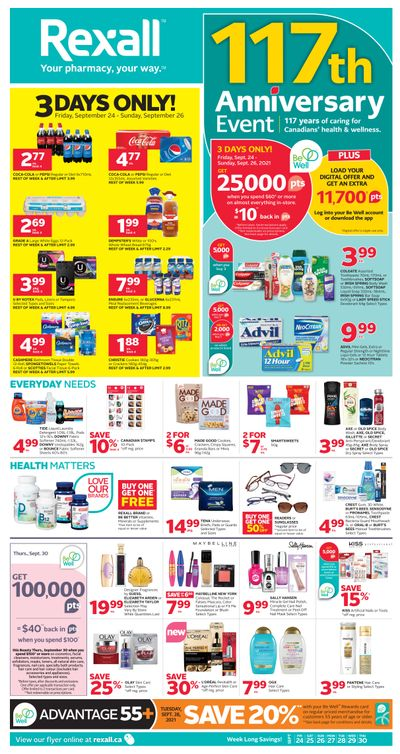 Rexall (ON) Flyer September 24 to 30