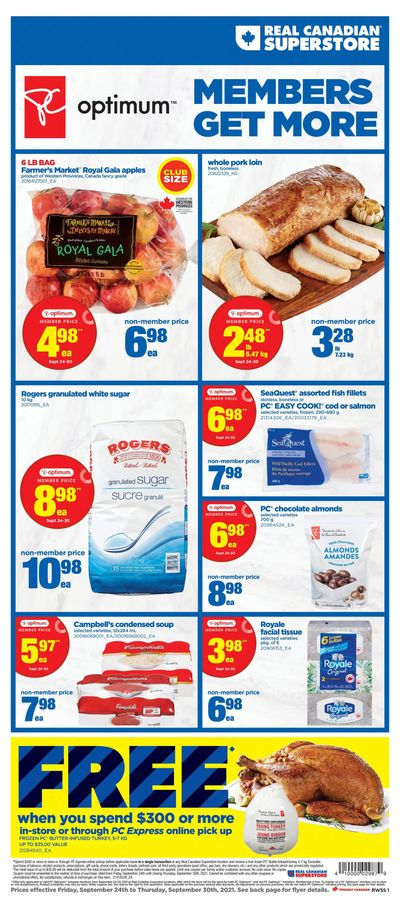 Real Canadian Superstore (West) Flyer September 24 to 30