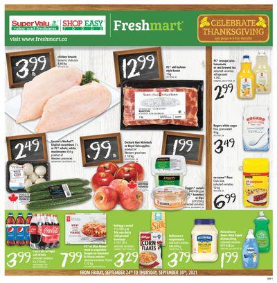 Shop Easy & SuperValu Flyer September 24 to 30