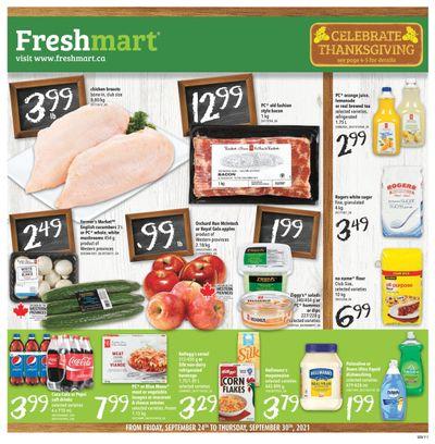 Freshmart (West) Flyer September 24 to 30