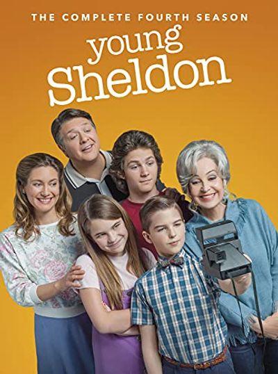 Young Sheldon: The Fourth Season (DVD) $22.97 (Reg $29.98)