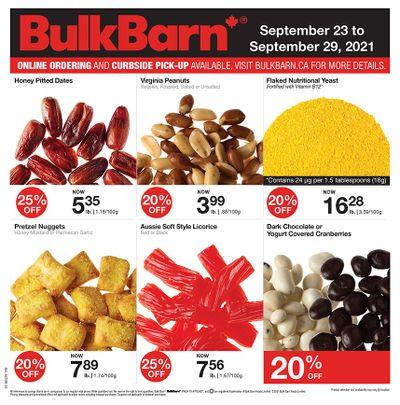 Bulk Barn Flyer September 23 to 29