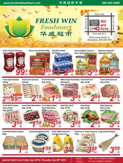 Fresh Win Foodmart Flyer September 24 to 30
