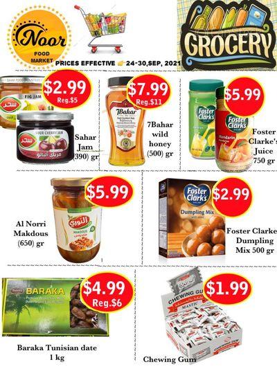Noor Food Market Flyer September 24 to 30