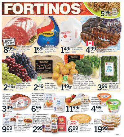 Fortinos Flyer September 30 to October 6