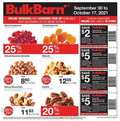 Bulk Barn Flyer September 30 to October 17